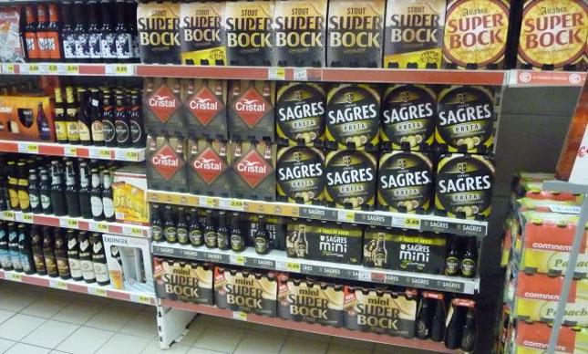Supermarked øl