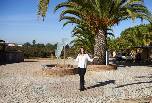 Christina Larsen vingård