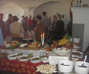 Julefrokost hos Cortes de Cima - dansk vinbonde