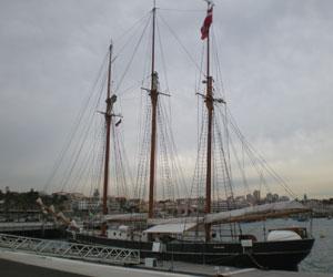 Den Store Bjørn - Tvind sejlskib