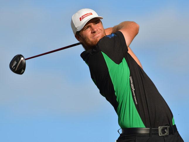 Lucas Bjerregaard golf