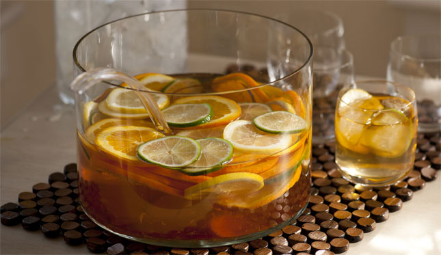 Sangria Punch Bowl