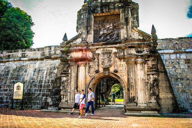 Santa Maria Santiago fort