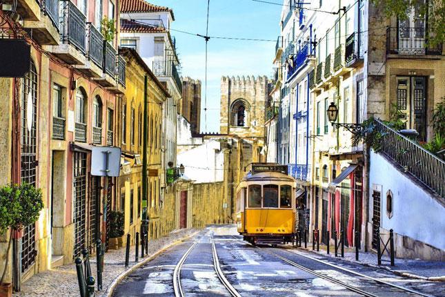 Sporvogn Lissabon