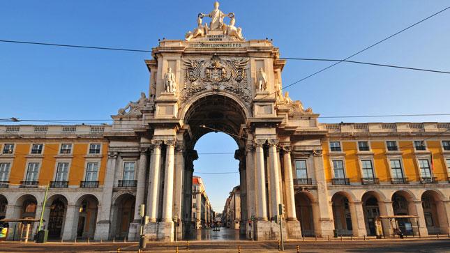 Triumfbuen Lissabon