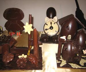 Chokolade festival i Obidos