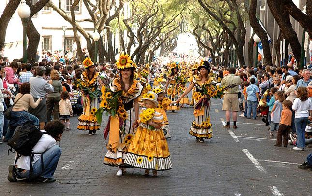 Madeira blomsterfestival