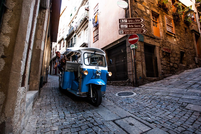 Tuktuk Lisbon