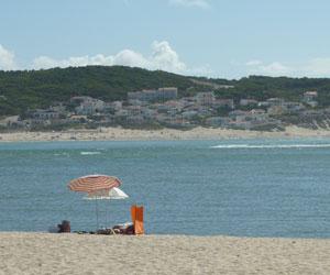 Billede Foz do Arelho strand Portugal