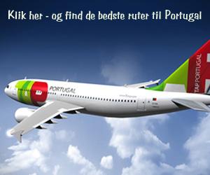 Billigt fly til Portugal