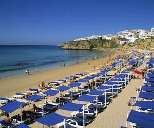 Albufeira stranden - Algarve