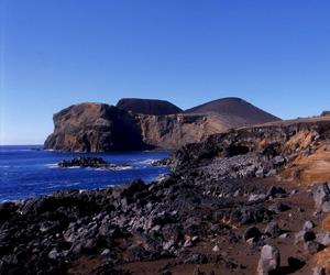 Capelinhos vulkan, Azorerne
