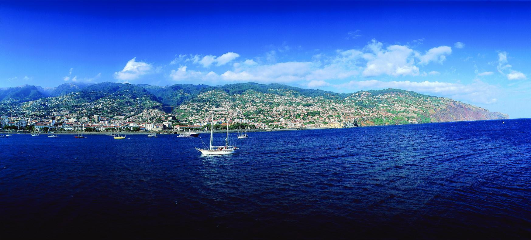 Funchal - hovedstaden på Madeira