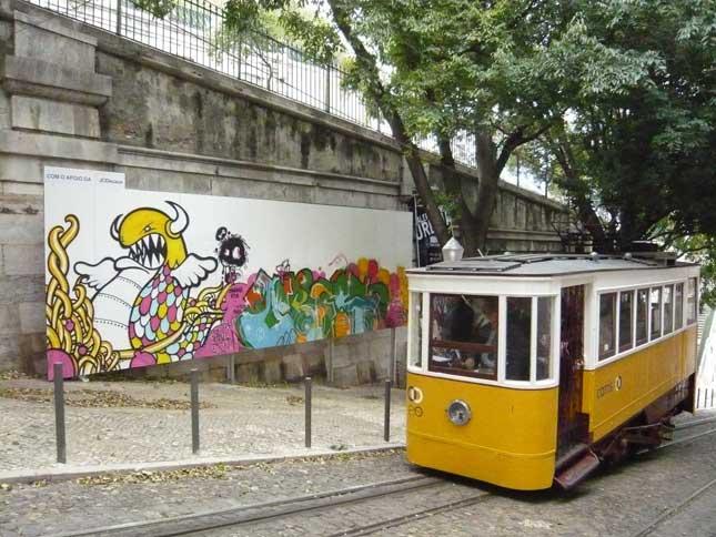 Graffiti i Lissabon