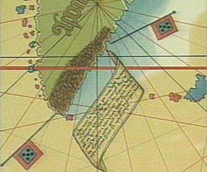 Grønland (A ponta d((asia)) på Cantino-kort 1502