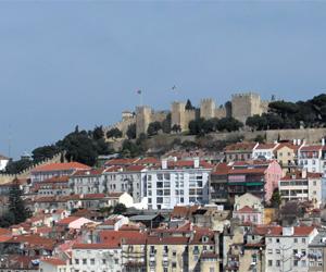 Castelo slottet, Lissabon