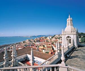 Udsigt over Lissabon, Portugals hovedstad