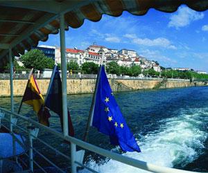 Mondego floden - Coimbra
