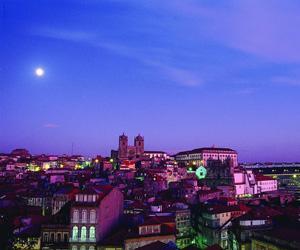 Porto ved aftenstid