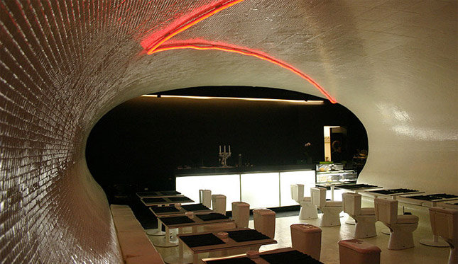 Restaurant i Porto - toilets
