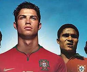 Ronaldo og Eusebio