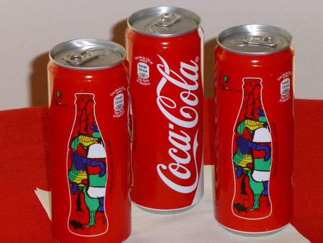 Portuguese Coca Cola Can