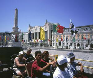 Praca dos Restauradores, Lissabon