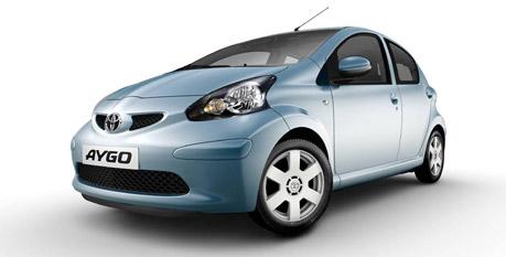 Toyota Aygo - mest solgte bil